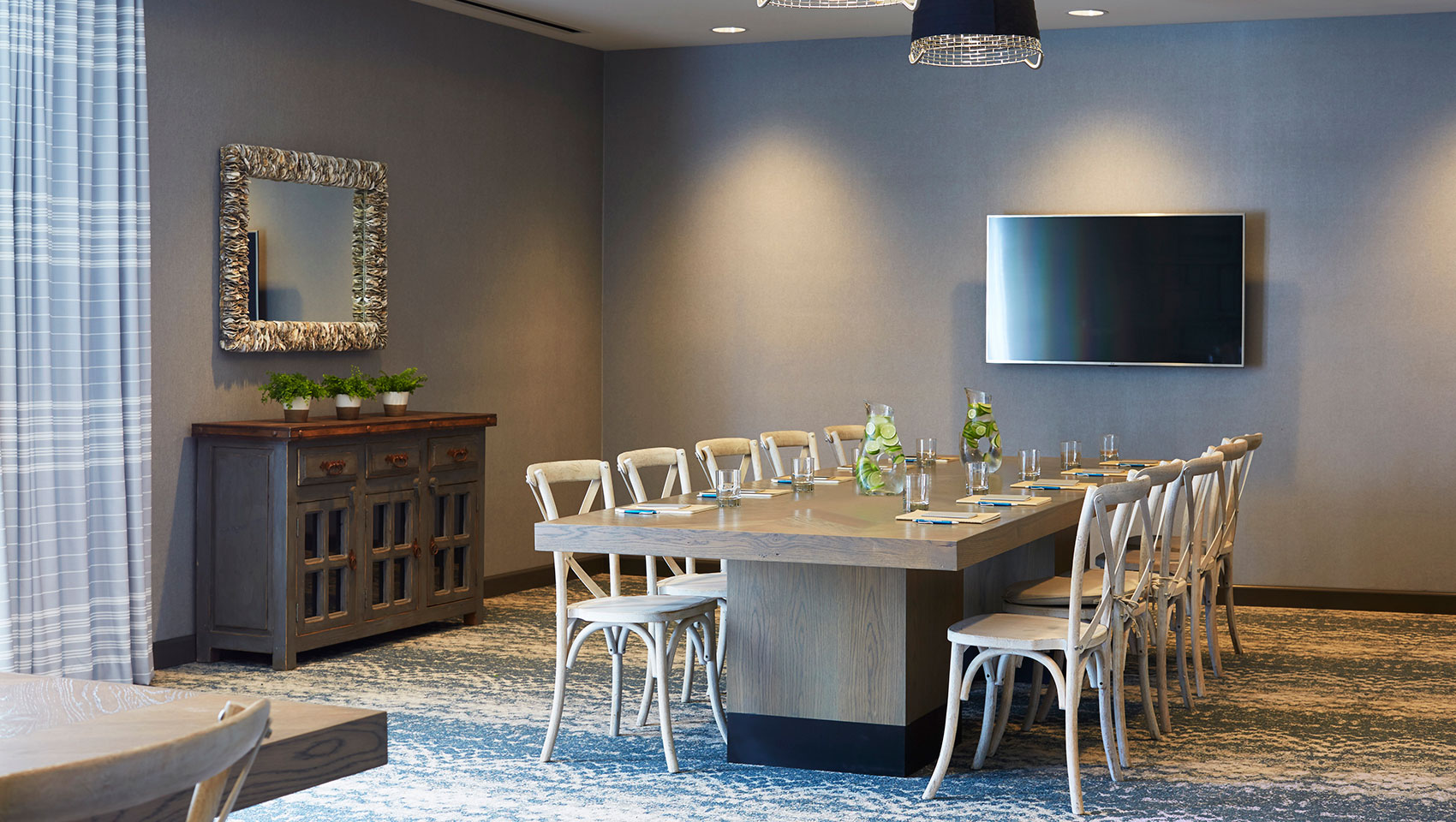 business meeting event space at the Kimpton Shorebreak Hotel