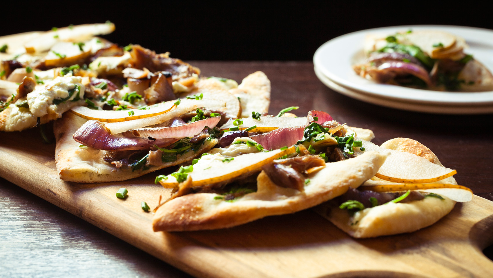 flat bread appetizer